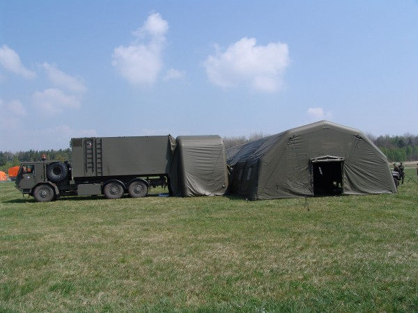 Army inflatable structure