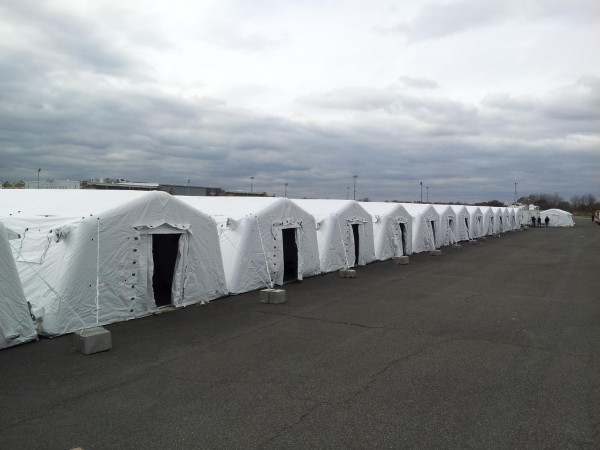 Inflatable structures with fast deployment from Leavitt & Parris