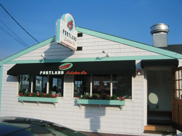 Custom awning graphics for Portland Lobster Co, by Leavitt & Parris
