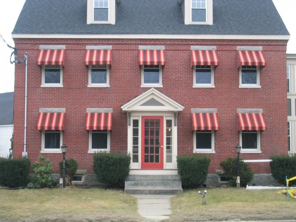 Leavitt & Parris can create custom stationary awnings that fit your needs