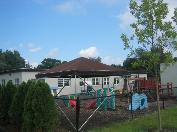 Canopy for playground area
