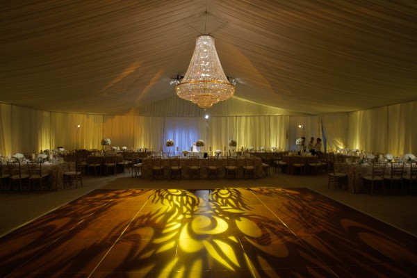 Event details light flooring, lighting, and decor, customized to fit any need