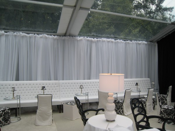 Event decor details by Leavitt & Parris, for a Brookline party