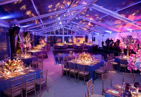 Spectacular wedding reception space in the Berkshires, event produced by Leavitt & Parris
