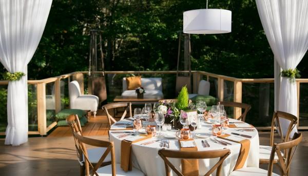 Table decor detail, by Leavitt & Parris, for Hidden Pond Kennebunkport, Maine wedding