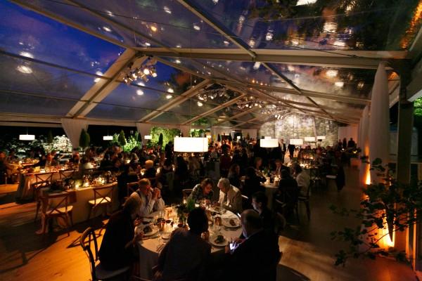 Interior of Hidden Pond Kennebunkport Wedding, event produced by Leavitt & Parris