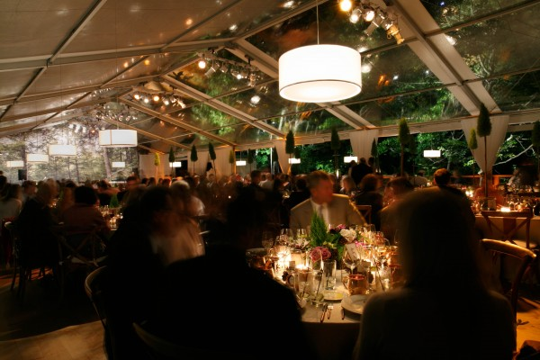 Interior of Hidden Pond Kennebunkport Wedding, event produced by Leavitt & Parris